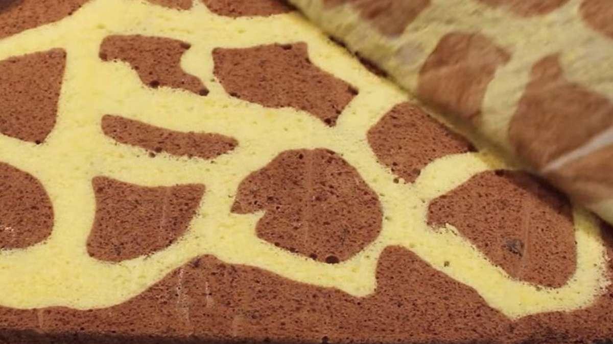 Zürafa Desenli Rulo Pasta Tarifi